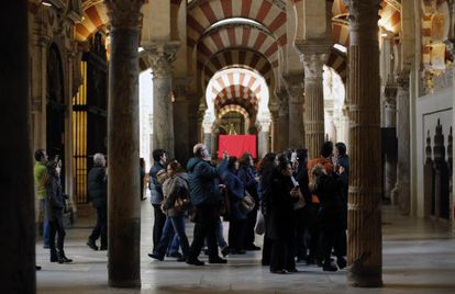 Mezquita Catedral de Cordoba, este pasado jueves.