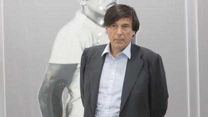 Manuel Falcó en la feria Arco, en Madrid, en febrero de 2020.