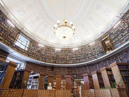 Biblioteca Nacional de Rusia en San Petersburgo.