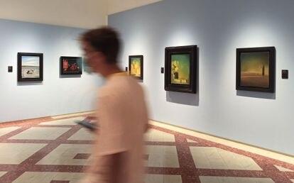 Cinco de las obras de Salvador Dalí que pueden verse en la exposición ¡El surrealismo soy yo! del Museo Dalí de Figueres.
