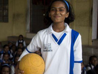 En el corazón de la India, la ONG Slum Soccer intenta sacar a las adolescentes de los barrios desfavorecidos