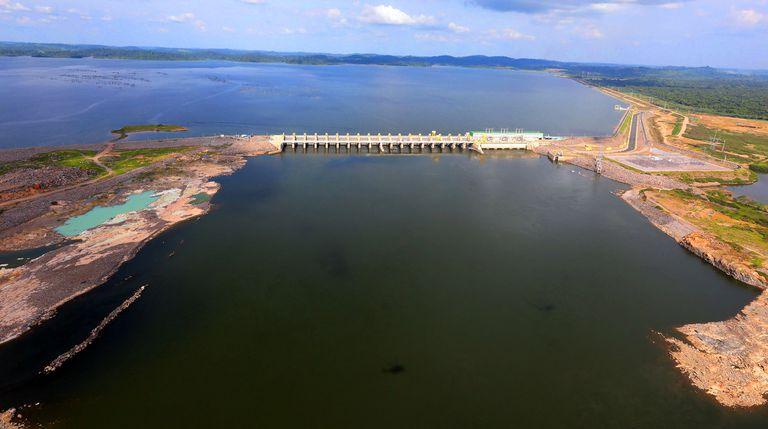 La planta de Belo Monte, al momento de su inauguración en noviembre de 2019.