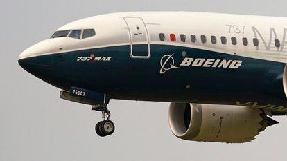 Un avión Boeing 737 MAX, en una imagen de archivo.
