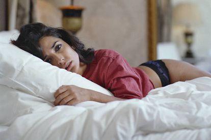 La actriz posa en exclusiva para ICON con fotos hechas por el también actor Quim Gutiérrez. La actriz lleva 'culotte' TCN.