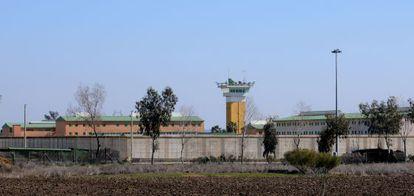 Imagen del exterior de la cárcel de Huelva.