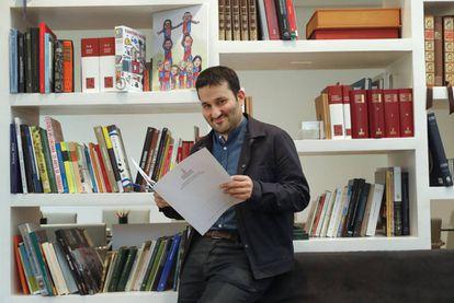 El Consejero de Educación, Vicent Marzà, durante la entrevista.