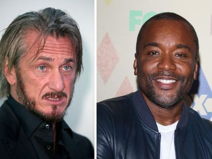 Sean Penn y, a la derecha, Lee Daniels.