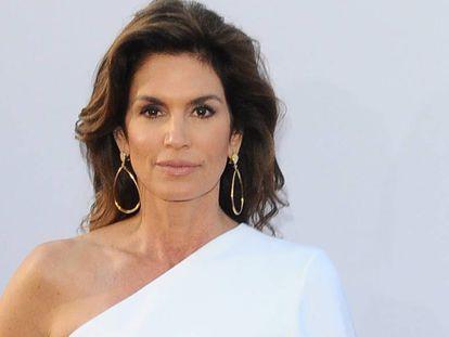 Cindy Crawford, en un homenaje a George Clooney celebrado el pasado junio en Los Ángeles.