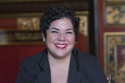 La ecuatoriana María Fernanda Ampuero.