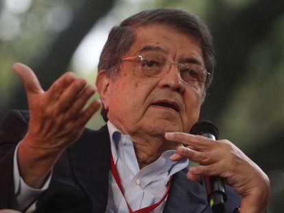 Sergio Ramírez, en el festival Gabriel García Márquez de Periodismo, el pasado mes de octubre.