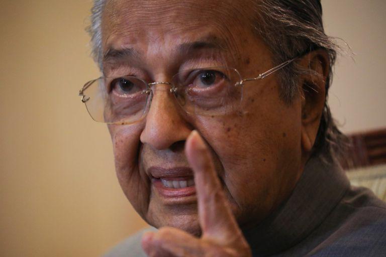 El ex primer ministro malasio Mahathir Mohamed.