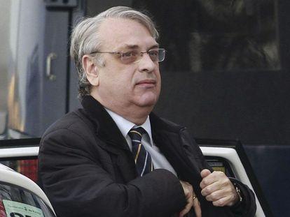El exsecretario del Instituto Nóos, Miguel Tejeiro, este martes.