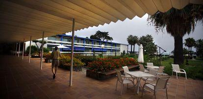 Vista interior del Parador Nacional de Turismo de Benicarló.