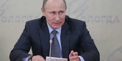 El presidente ruso Vladímir Putin el pasado 7 de marzo.