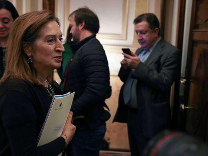 La presidenta del Congreso de los Diputados, Ana Pastor.