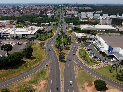 Vista aérea de Bauru, en el Estado brasileño de São Paulo, el jueves de la semana pasada.