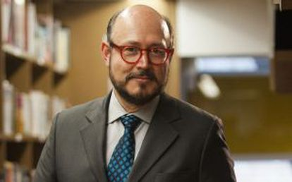 El periodista Ricardo Raphael en Ciudad de México.