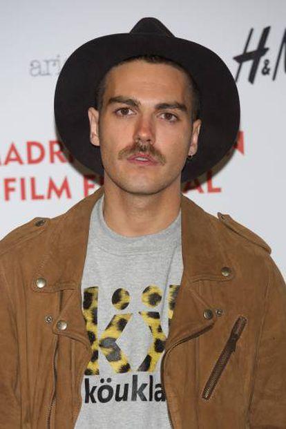 Alberto Jiménez, vocalista del grupo Miss Caffeina.