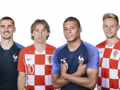 Francia, una potencia con una reputada academia, es la favorita para conquistar el título ante una Croacia que busca su primera cima apelando a la emoción y al fútbol de la calle