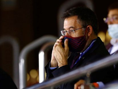 El presidente del FC Barcelona, Josep Maria Bartomeu.