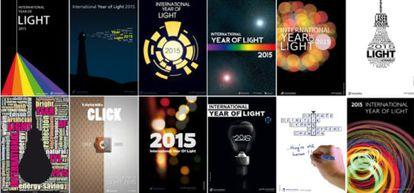 Mosaico del Año Internacional de la Luz 2015.
