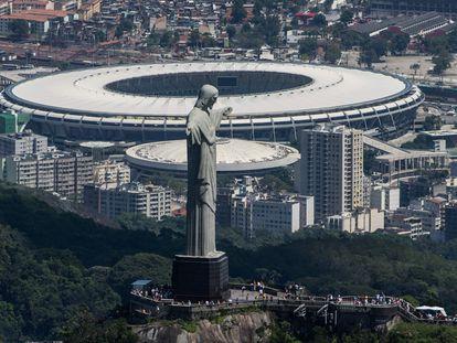 El estadio Maracaná, en Río de Janeiro, donde se realizará la final de la Copa América.
