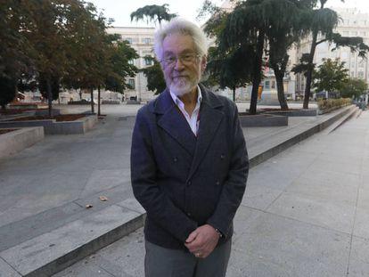 """Alex """"Sandy"""" Pentland, profesor del MIT Media Lab, durante una visita a Madrid a finales de octubre."""