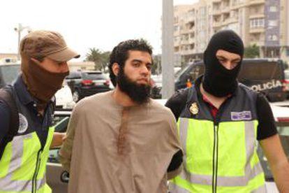 Mohamed, el último yihadista detenido en Melilla.