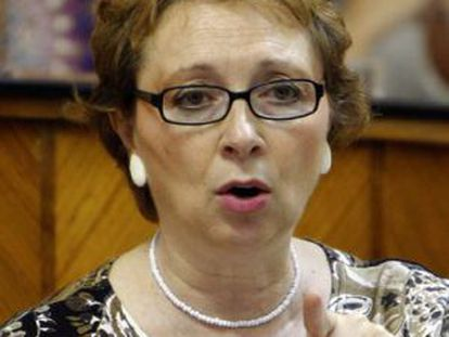 Carmen Martínez Aguayo, consejera de Hacienda y Administración Pública.
