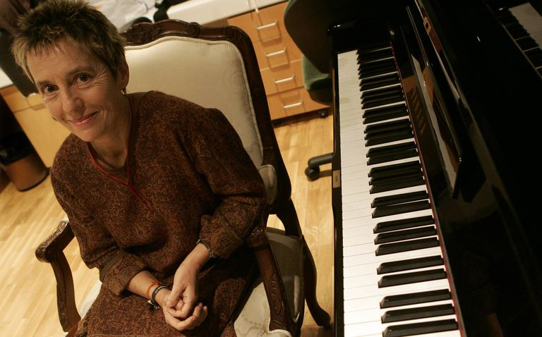 La pianista portuguesa Maria João Pires. Foto: Ricardo Gutiérrez