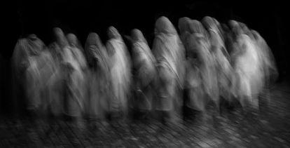 Las viudas de Vrindavan son mujeres invisibles.