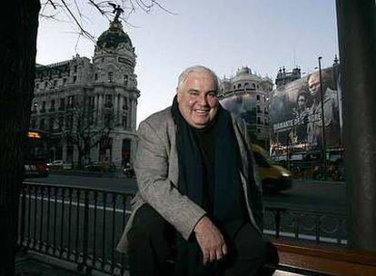 William J. R. Curtis, ayer en Madrid.