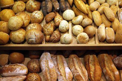 Muestrario de pan de Viena LaCrem