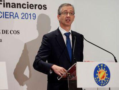 El gobernador del Banco de España reclama que si realiza el mismo negocio que los bancos, tenga igual supervisión