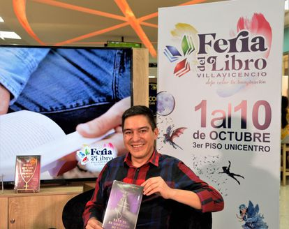Juan Pablo Barrientos, author of a book on pedophilia in Colombia.