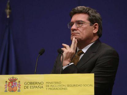 El ministro de Inclusión, Seguridad Social, José Luis Escrivá,. EFE/Kiko Huesca