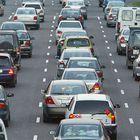 El acceso por carretera a la ciudad de Valencia desde la autovía A3, en una imagen captada ayer por la tarde.