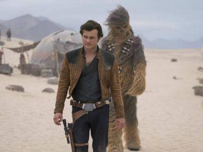 Fotograma de 'Han Solo: Una historia de Star Wars'.