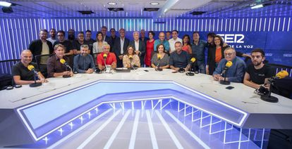 Conductores de los programas de la cadena SER.