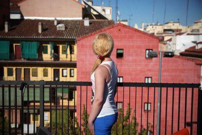 transexual agredida el pasado 8 de agosto en Madrid.