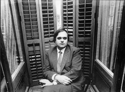 El escritor Pere Gimferrer, fotografiado en el año 1972.