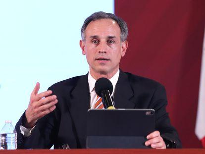 El portavoz de México para el coronavirus, Hugo López-Gatell.