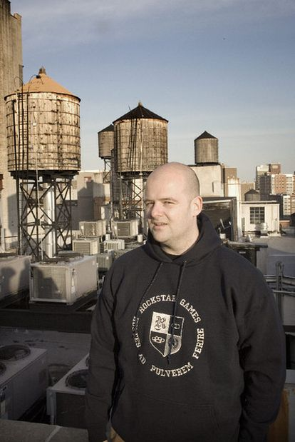 Dan Houser, en Nueva York.