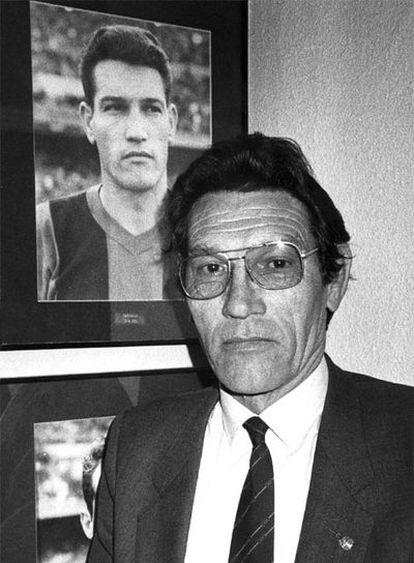Juan Segarra, en una fotografía de 1985.