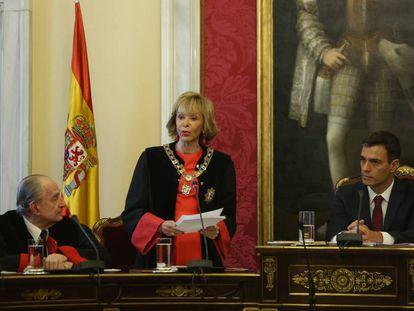 María Teresa Fernández de la Vega toma posesión como presidenta del Consejo de Estado.