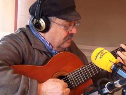 El músico, gastrónomo y radiofonista Pere Tapias