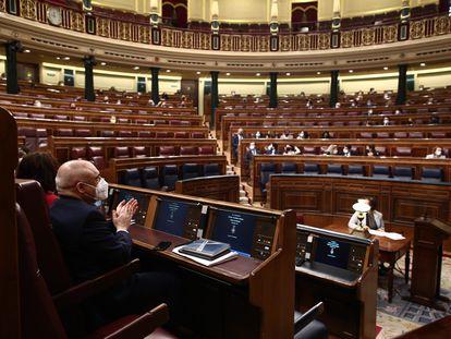 Sesión Plenaria en el Congreso marcada por la elección de los miembros del Consejo de RTVE.