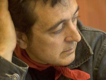 El cantante Manolo García.