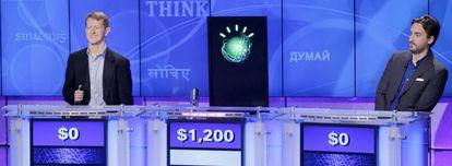 El superordenador cognitivo de IBM Watson participa en el concurso estadounidense 'Jeopardy!'