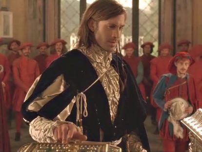 Fotograma de la versión de 'El mercader de Venecia' dirigida por  Michael Radford.